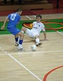 2008 2009个杯子futsal uefa 库存图片