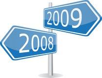 2008 - 2009 Stock Image