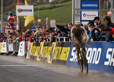 2008-2009 Cyclocross World Cup Royalty Free Stock Photos