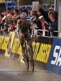 2008-2009 de Kop van de Wereld Cyclocross Stock Foto
