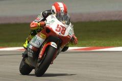 2008 250cc Marco italiano Simoncelli Fotografia Stock Libera da Diritti