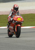 2008 250cc Spaanse Alvaro Bautista Royalty-vrije Stock Afbeeldingen