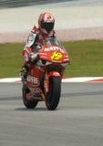 2008 250cc spanischer Alvaro Bautista Lizenzfreie Stockbilder