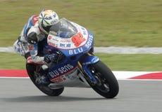 2008 250cc spanischer Daniel Arcas Lizenzfreies Stockfoto