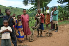 2008 2nd flyktingar för congo dr nov Arkivfoton