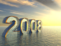 2008_3D_in_water Stock Image
