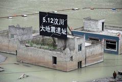 2008 512 ruïnes van de Aardbeving Wenchuan Royalty-vrije Stock Foto's