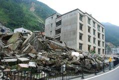 2008 512 Wenchuan Erdbeben Lizenzfreies Stockbild