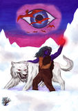 北极狼(2008) 库存照片