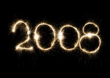 2008 años Fotos de archivo libres de regalías