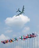 2008年airshow新加坡 免版税库存照片