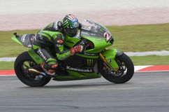 2008 American John Hopkins of Kawasaki Racing Team Royalty Free Stock Image