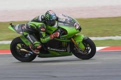 2008 American John Hopkins of Kawasaki Racing Team Royalty Free Stock Image