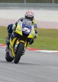 2008 americano Colin Edwards da tecnologia 3 Yamaha Fotos de Stock Royalty Free