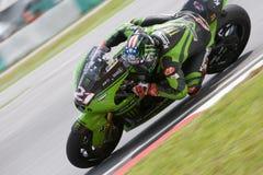2008 Amerikaanse John Hopkins van Rennend Team Kawasaki Stock Foto's