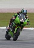 2008 Amerikaner John Hopkins von Kawasaki Team laufend Lizenzfreies Stockbild