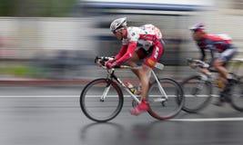 2008 AMGEN Tour of California Bike Race. Scott TIETZEL sprints through the downtown Sacramento circuit at the 2nd stage of the 2008 AMGEN Tour of California race Stock Photography