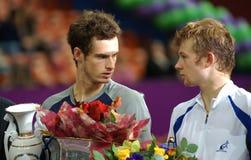 2008 andrey Andy golubev Murray otwarty spb Zdjęcie Stock