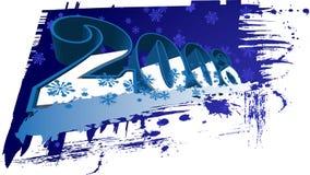 2008 ans neufs heureux Images libres de droits
