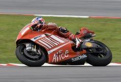 2008 Australier Casey Entkerner von Ducati Marlboro Lizenzfreies Stockbild