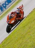 2008 Australische Ontpitter Casey van Ducati Marlboro Stock Foto