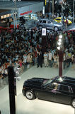 2008 Auto show. It is 2008 ShenZhen international auto show Stock Photos