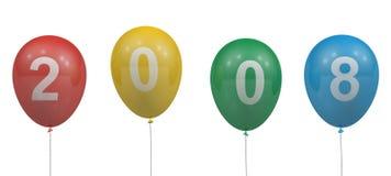 2008 balonów Zdjęcie Stock