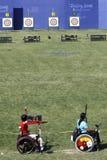 2008 Beijing gra paralympic Fotografia Royalty Free