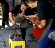 2008 blacksmiths hefaiston Obrazy Royalty Free