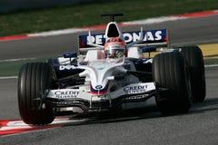 2008 bmw f1 kubica Robert sauber zdjęcia stock