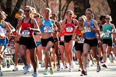 2008 bostonu maratonu s próbuje olimpijskie kobiety Zdjęcie Royalty Free