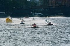 2008 campeonato del mundo del Powerboat de U.I.M.F1 Imagen de archivo