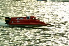 2008 campeonato do mundo do Powerboat de U.I.M.F1 Foto de Stock Royalty Free