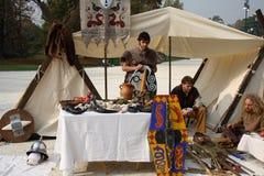 2008年capodanno celtico 库存照片