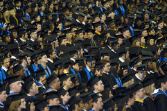 2008 ceremonię ukończenia szkoły Georgia state university fotografia stock