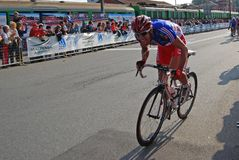 2008 championnats faisant un cycle le monde Photos stock