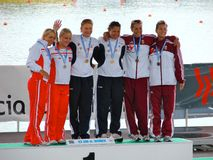 2008 championships european flatwater Στοκ Φωτογραφία