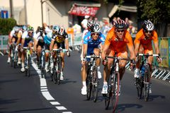 2008 championships road uci world Royaltyfri Foto