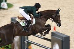 2008 d骑马奥林匹克 免版税库存照片