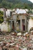 2008 de aardbeving van Sichuan Stock Foto's