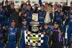 2008 de Kampioen Jimmie Johnson van de Kop van de Sprint NASCAR Stock Foto's