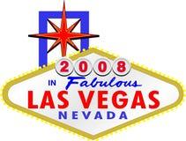 2008 en Las Vegas fabuloso Nevada Imagen de archivo libre de regalías