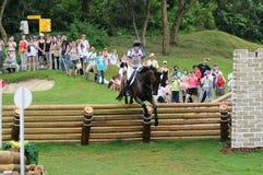 2008 eventi equestri olimpici Fotografie Stock