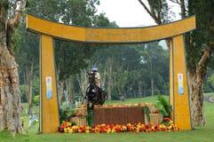 2008 eventi equestri olimpici Fotografia Stock Libera da Diritti