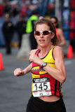 2008 experimentações olímpicas da maratona das mulheres dos E.U., Boston Fotos de Stock Royalty Free