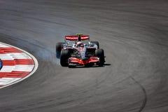2008 f 1 Heikki kovalainnen Mercedes mclaren Obrazy Royalty Free