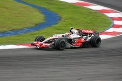 2008 f 1 Heikki kovalainnen Mercedes mclaren Fotografia Stock