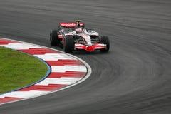 2008 f 1 Heikki kovalainnen Mercedes mclaren Obraz Royalty Free