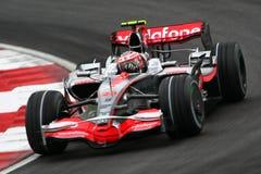 2008 f 1 Heikki kovalainnen Mercedes mclaren Zdjęcie Royalty Free