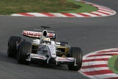 2008 f1 δύναμη Giancarlo Ινδία fisichella Στοκ Φωτογραφίες